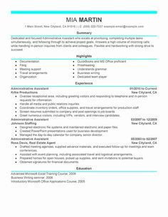 sample functional resume for administrative assistant Unforgettable Executive Assistant Resume Examples to Stand Out . Office Assistant Resume, Administrative Assistant Resume, Manager Resume, Assistant Manager, Professional Resume Samples, Free Resume Samples, Resume Templates, Cv Template, Binder