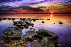 Sunset at Jyllinge GOD'S BEAUTIFUL ART WORK.