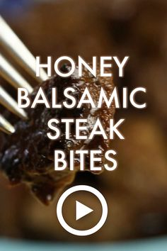 Cupcakes & Kale Chips - No-Fuss Food for No-Fuss Families Good Steak Recipes, Steak Marinade Recipes, Beef Recipes, Cooking Recipes, Balsamic Marinade, Balsamic Vinegar, Steak Tenderizer, Heart Healthy Breakfast, Appetizers