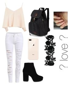 """""""love ?"""" by cielomejia on Polyvore featuring Topshop and ALDO"""
