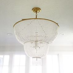 Visual Comfort Jacqueline Two-Tier Chandelier - Designer: AERIN ...