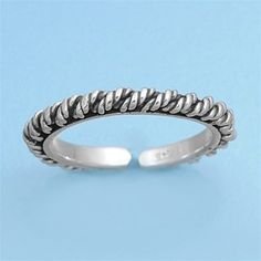 Adjustable Antique Style Mid Finger / Knuckle Ring #MidFingerRing