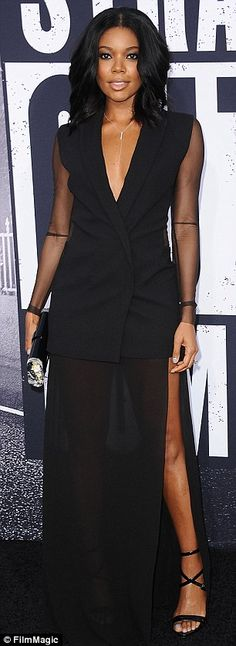 Gabrielle Union - Premiere of 'Straight Outta Compton' at the Microsoft Theater in Los Angeles.  (10 August 2015)
