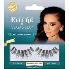 5f5c2be2cd7 Eylure Vegas Nay Absolute Allure Lashes Vegas Nay Lashes, Falsies, False  Eyelashes, Gorgeous