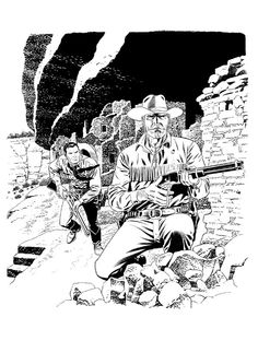 Tex e Kit Carson di Civitelli