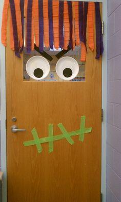 Oct classroom door