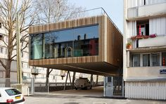 Adult in education: The Lucie Aubrac School, Paris by Dietmar Feichtinger Architects