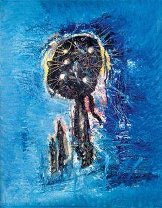 Wols - Niebieski fantom, 1951, taszyzm