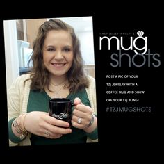 $250 Shopping Spree to one VERY LUCKY fan that posts a pic of their TZj bling on our wall ( or any of our social medias ) with the hashtag #TZJMUGSHOTS. FREE mugs to everyone that stops by the showroom now through April 4th!