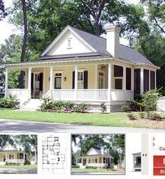 Dream house plans: One of the rooms would be a mud and wet craft space while the other would be a library craft space. Small House Floor Plans, Cottage Floor Plans, Best House Plans, Dream House Plans, Retirement House Plans, Ranch Style Floor Plans, Bungalow Floor Plans, Cottage Style House Plans, The Plan