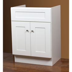 Linen White 24x21-inch Bath Vanity Base - Overstock Shopping - Great Deals on Bathroom Vanities