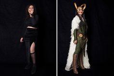 BoredPanda << Traditional female Loki