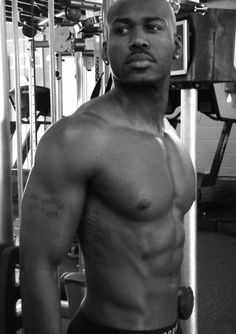 Dolvett may not be Jillian... But I don't mind since he makes up for it by being a hot piece of man.