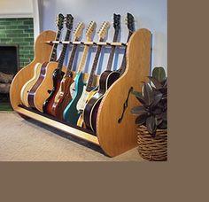 Guitar Display Racks – 'The Session™ Deluxe' | GuitarStorage.com