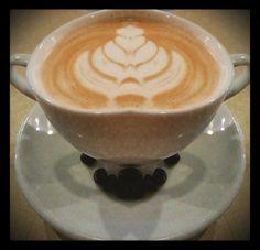 Una taza del mejor café   solo puede hacerse con una pizca de arte y corazón…