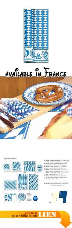 Duni Dunicel Rouleau de nappe losanges bavarois 1,20m x 40m. Dimensions: 1,20x 40m. Motif: Losanges Bavarois. Matériau: Dunicel. Contenu de la livraison: 1rouleau #Kitchen #HOME