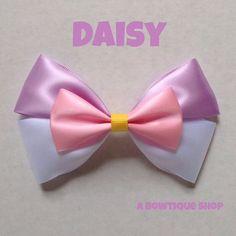 daisy hair bow