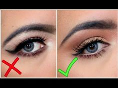 5 Tricks for Basin Eye Makeup / How to mark the eye socket - YouTube
