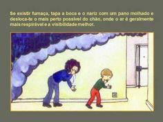 Alerta para prevenção e combate a incêndio