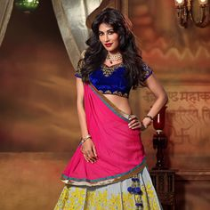 #Grey #LehengaCholi with Dupatta
