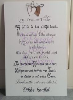 1000 Images About Tekstborden On Pinterest Met Tes And Van