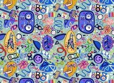 Greta Songe Designs: Gym Inspired Pattern