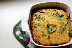 Agave Cornbread with Greens | GoodVeg powered by Squidoo