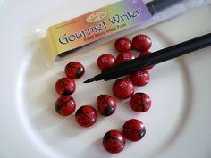 ladybug cupcakes easy   Ladybug Cupcakes …   Sweet Simple Stuff