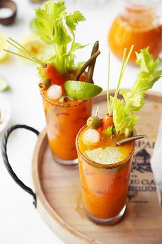 carrot bloody marys