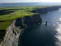 Green Ireland...