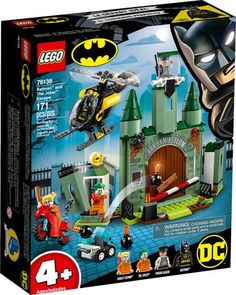 STICKERS LEGO DC Super Heroes-Batman Batcycle ™ bataille de 76118