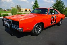 """The """"General Lee"""" Dodge Charger from the """"Dukes of Hazard""""."""
