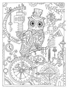 Creative Haven Owls Coloring Book (Adult Coloring) Owl Coloring Pages, Printable Coloring Pages, Coloring Sheets, Coloring Books, Free Adult Coloring, Colorful Drawings, Creative, Illustration, Painting