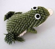 3D+Origami | origami Fortune Frog 3D ~ Origami