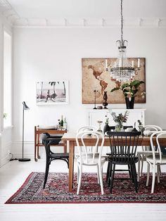 The Most Creative Dining Rooms By David Carter Design Dining Room Design, Dining Room Table, Dining Area, Dining Room Inspiration, Interior Inspiration, Sweet Home, Muebles Living, Luxury Home Decor, Modern Room