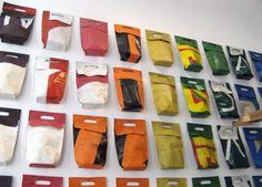 Green Fashion Product FREITAG กระเป๋าที่ทำมาจากผ้าใบคลุมรถบรรทุก freitag06 image