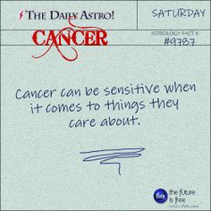 Cancer Daily Astro!: Hey Cancer, your daily horoscope for the day is interesting! Visit iFate.com today!