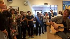 Nicole Kidman & Keith Urban visit Monash Children's Hospital and perform...