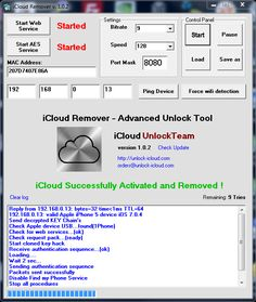iCloud Activation Lock Removal Service (Software Cracked)   http://icloudremovaltool.blogspot.com