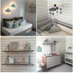 """""""Da série quarto dos pimpolhos... Irresistível! Lindinho! @triplex_arquitetura @carol_triplex @drihelu_triplex #triplexarquitetura #quartorafa #babyroom…"""""""