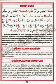 HUZUR SOKAĞI (Yaşamaya Değer Hobiler) Allah Quotes, Quran, Islam, Prayers, Learning, Beans, Prayer