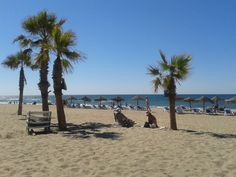"""Playa urbana """"El Cable"""" de Marbella, España. (SAMSUNG DUOS 23.06.2013 11:31 h by Fbb) http://www.skindefenders.com"""