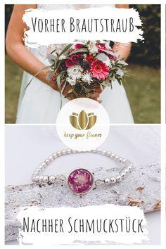 Mit Schmuck von Keep Your Flowers kannst Du Deinen Brautstrauß aufbewahren.  Wir haben eine große Auswahl an Ketten, Armreifen, Ohrringen und vielem mehr. Du hast die Wahl zwischen verschiedenen Design und Edelmetallen. Zusammen mit Deinen eigenen Blüten kreieren wir Dir ein individuelles Schmuckstück ganz nach Deinen Vorstellungen.  #keepyourflowers #hochzeitsschmuck #weddinggift #brautstraußschmuck #hochzeitsblumen #brautgeschenk #brautstraußaufbewahren #blumenschmuck #wedding #hochzeit