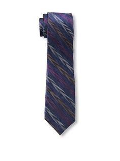 47% OFF Ben Sherman Men's Textured Stripe Tie, Berry