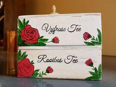 Tea Box, Hand Painted, Painting, Art, Tea Caddy, Painting Art, Paintings, Kunst, Paint