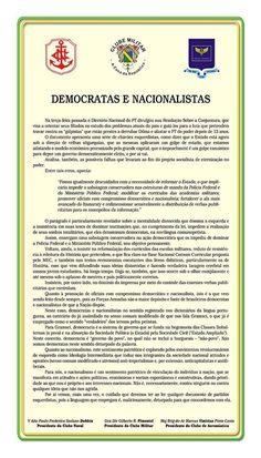 Folha Política: Leia a nota das Forças Armadas repudiando a resolução do PT