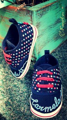 Fanart.es Zapatillas pintadas a mano / carmen www.fanart.es