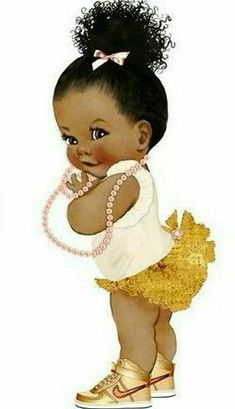 New African Children Cartoon Ideas Black Baby Girls, Black Girl Art, Black Women Art, Art Girl, Clipart Baby, Baby Clip Art, Baby Art, African American Art, African Art