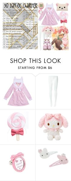 """""""30 Day OC Challenge: Day 23"""" by arithegeek11 ❤ liked on Polyvore featuring Comme des Garçons, Sweet & Co. and Monsoon"""