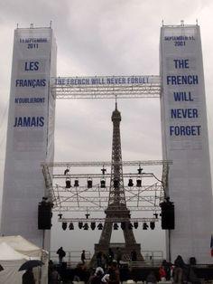 @9-11 Paris, France. Support.